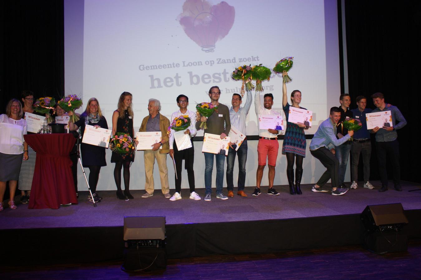 De winnaars van Het beste idee. Foto: Jan in 't Groen