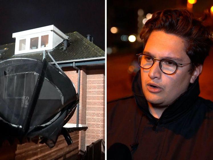 Ravage en gewonden na windhoos in Barendrecht
