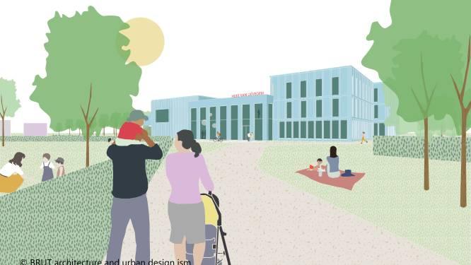 Zo zal het 'Huis van Lievegem' eruitzien: cultureel centrum, nieuw gemeentehuis én dorpspark van hectare groot