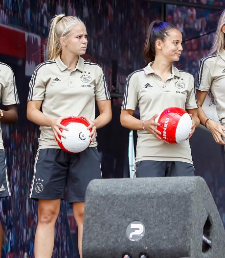 Prima uitgangspositie voor Ajax-vrouwen in CL