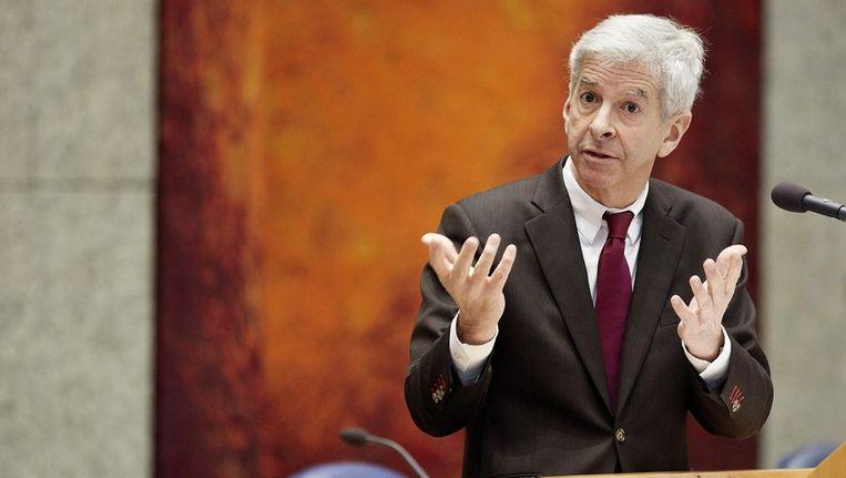 Minister Ronald Plasterk van Binnenlandse Zaken Beeld ANP