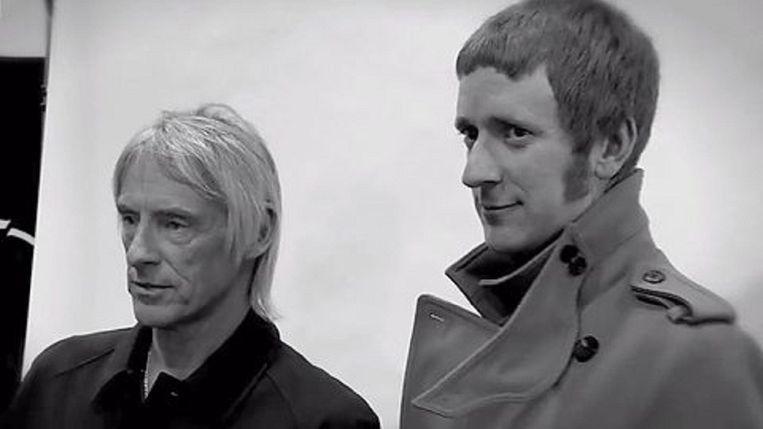 Paul Weller en Bradley Wiggins Beeld BBc