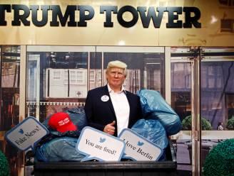 Madame Tussauds flikkert beeld van Trump in de vuilbak