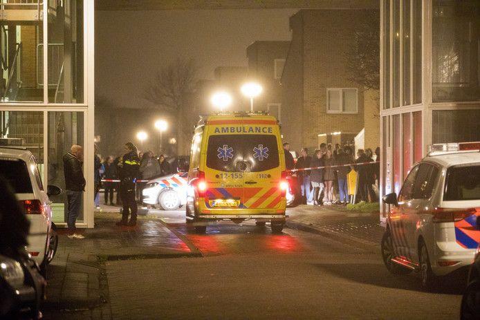 De hulpdiensten rukten massaal uit voor het incident in Velserbroek.
