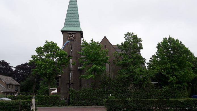 Bij de Bathsewegkerk in Rilland.
