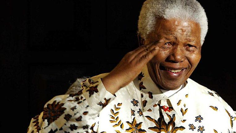 Mandela in 2003 Beeld afp