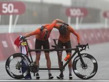 Weurtse wielrenner Fransen pakt goud in Tokio en buigt nog vóór de finish voor gastland