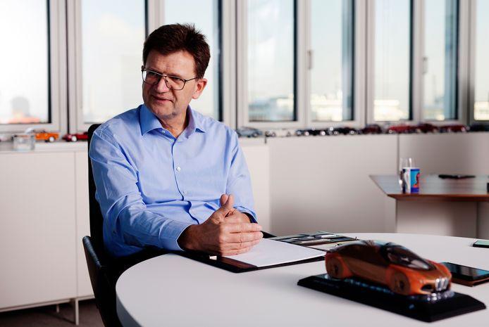 Klaus Fröhlich, lid van de raad van bestuur van BMW AG