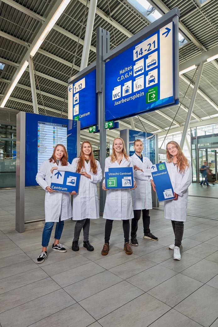 Onderzoekers van het UvA op Utrecht Centraal