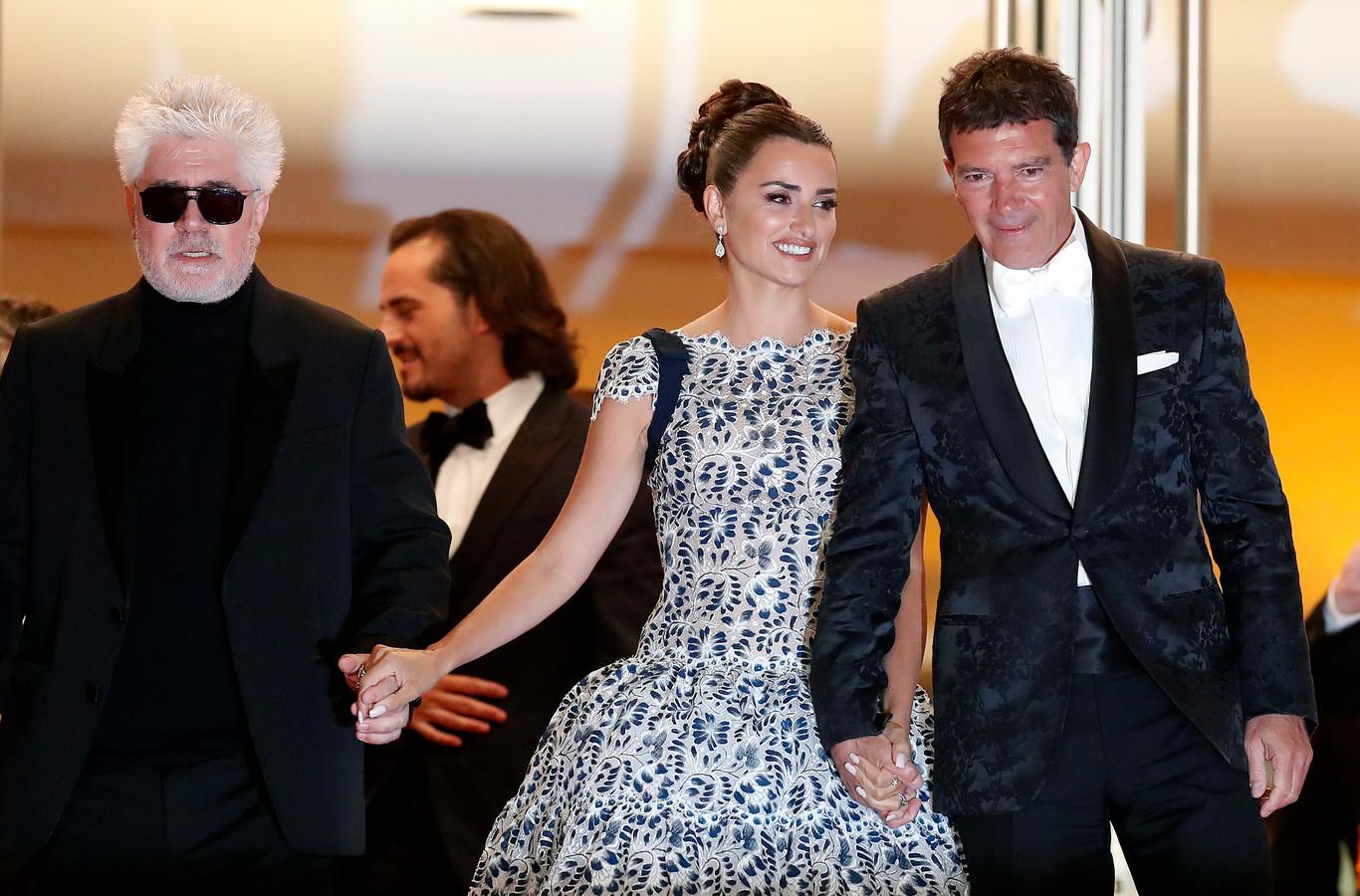 Pedro Almodovar, Penelope Cruz et Antonio Banderas