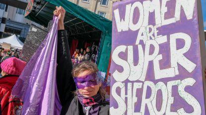 Internationale Vrouwendag: vrouwen komen op straat tegen ongelijkheid in Brussel, Antwerpen en Gent
