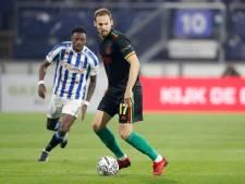 LIVE   Heerenveen loopt achter Ajax aan in duel met moordend tempo, grote kansen blijven uit