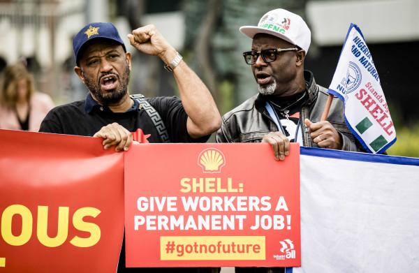 **Aandeelhouders Shell stemmen tegen klimaatresolutie**