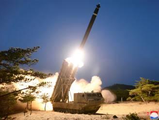 Noord-Korea vuurt opnieuw raketten af in zee