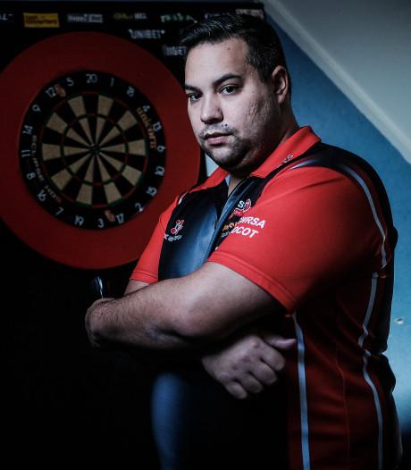 Jermaine 'The Machine Gun' uit Westervoort wil stunten op WK darts