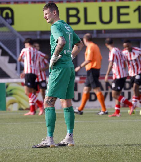 Eerste nederlaag voor Kozakken Boys, tiental van Jong Sparta is te sterk voor ploeg uit Werkendam