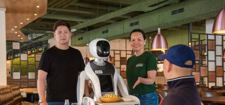 Bliep bliep, smakelijk eten; bij Dadawan bedienen robots straks de gasten aan tafel