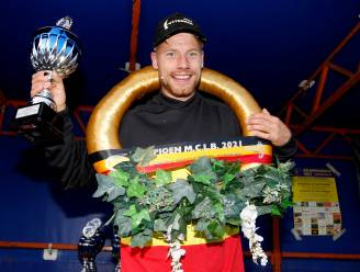 """Jens Zutterman nationaal kampioen bij de Nieuwelingen B: """"Ik schonk mezelf een prachtig verjaardagscadeau"""""""