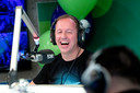 Edwin Evers bij zijn afscheid van Radio 538
