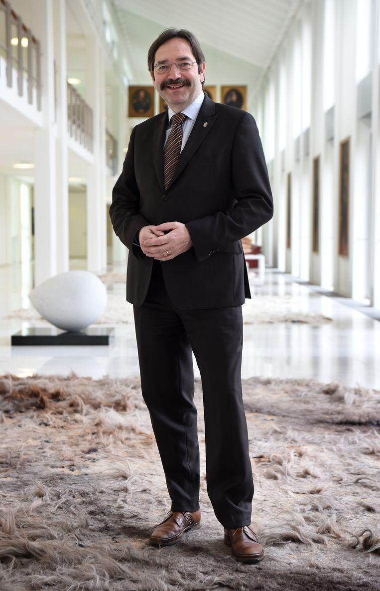 Commissaris van de koning Theo Bovens. Beeld Marcel van den Bergh