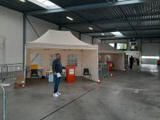 Klaar voor 360 coronatests per dag in Harderwijk