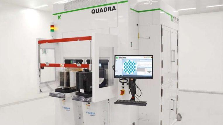 De Quadra, een van de precisiemeetapparaten van Nearfields Instruments. Dit techbedrijf kan doorgroeien dankzij een investering met overheidsgeld.   Beeld NFI