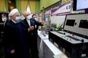 President Rouhani liet zich op 10 april, de Nationale Dag van Kernenergie, op de hoogte brengen van de ontwikkelingen.
