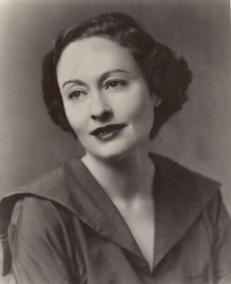 Ida Simons. Beeld rechtenvrij