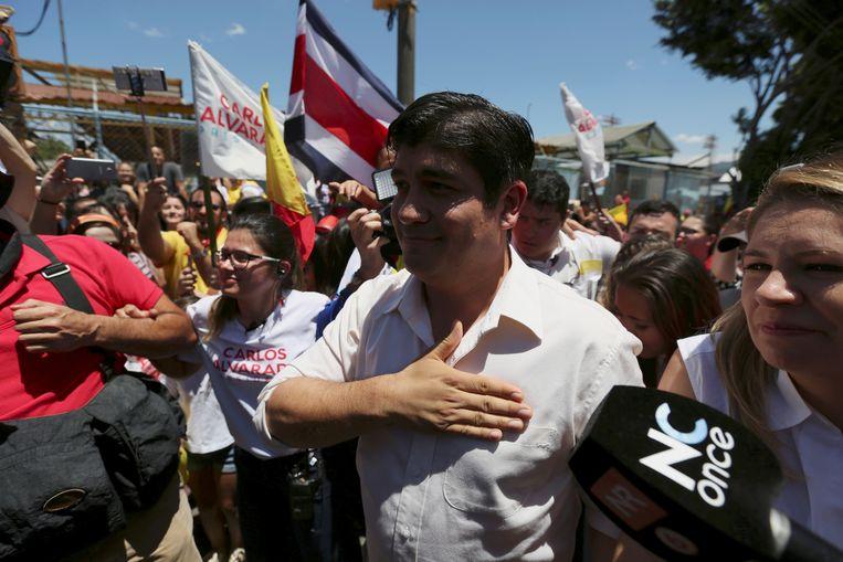 Carlos Alvarado Quesada Beeld REUTERS
