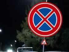Het is kermis in Oss en je ziet dit verkeersbord. Mag je hier parkeren?