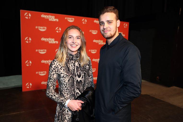 Ook Anna-Carina, de vriendin van Ian, was van de partij. Zij bracht hun goede vriend Joppe mee.