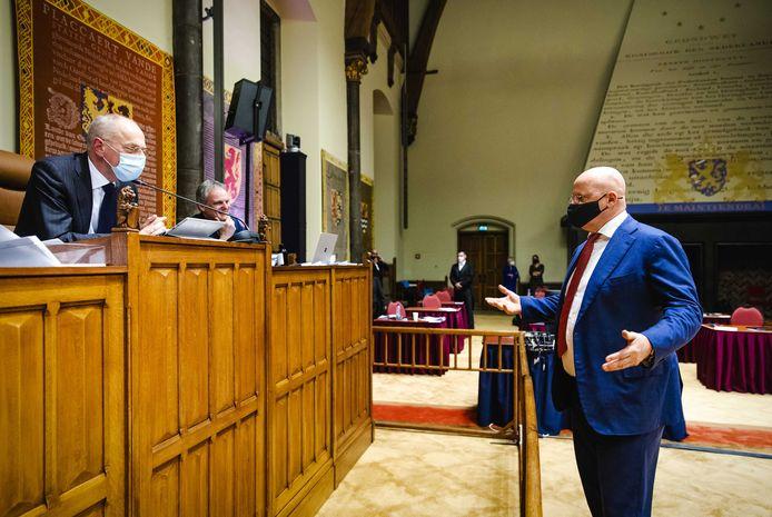 De Eerste Kamer is gisteren akkoord gegaan met een spoedwet als nieuwe juridische basis voor de avondklok.