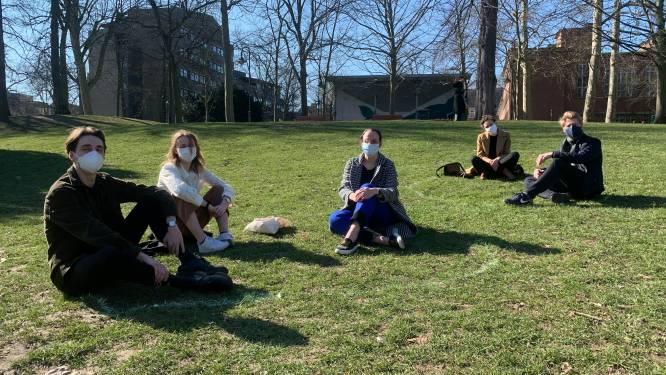 Leuvense jongerenpartijen vragen 'bubbelcirkels' in drukke parken