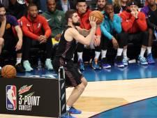 Joe Harris koning van de driepunters in de NBA
