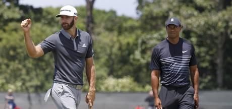 Johnson steviger aan de leiding in US Open, Woods, Spieth en McIlroy missen de cut