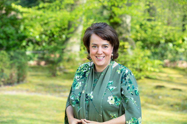 Manon van Beek, bestuursvoorzitter Tennet. Beeld Babet Hogervorst