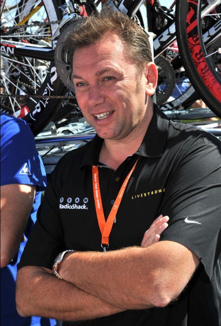 Johan Bruyneel is ziedend op de UCI. Beeld PHOTO_NEWS