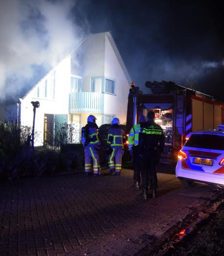 Woning ontruimd voor brand aan Hoefbladveld Doetinchem