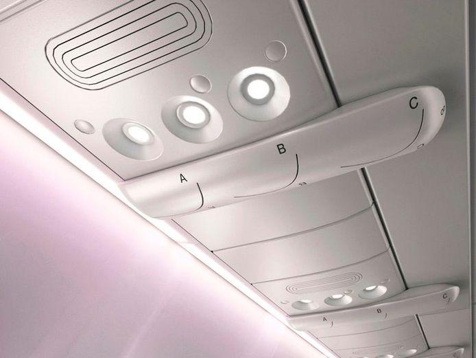 Het unieke ventilatiesysteem zorgt voor een veiligere luchtstroom.