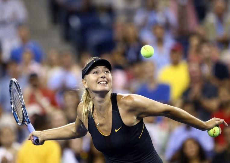 ... en treft Sharapova in de volgende ronde. Beeld REUTERS