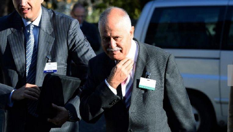 De Turkse ambassadeur Hasan Gogus werd uit Oostenrijk teruggeroepen. Beeld afp