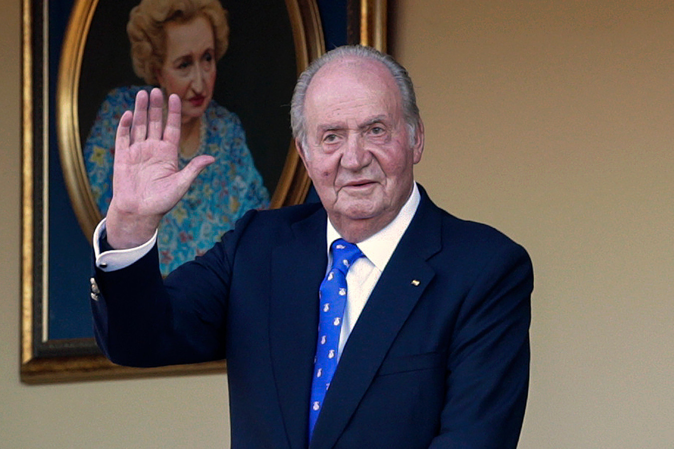 L'ancien roi d'Espagne Juan Carlos.