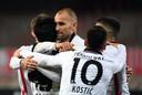 Doelpunt Dost niet genoeg voor zege Frankfurt na comeback.