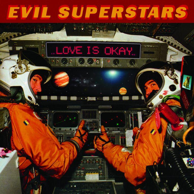 'Love Is Okay', de debuutplaat van Evil Superstars. Beeld rv