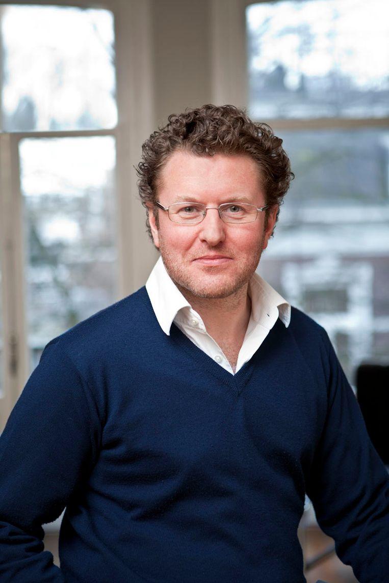 Bas Jacobs, hoogleraar economie aan de Erasmus Universiteit Rotterdam. Beeld RV - EUR
