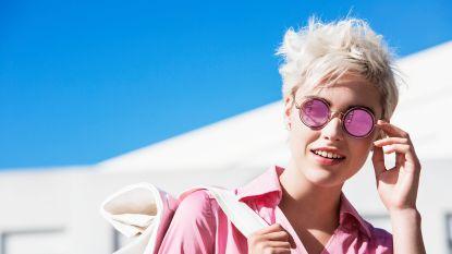 La vie en rose: de gekleurde zonnebril is opnieuw een trend