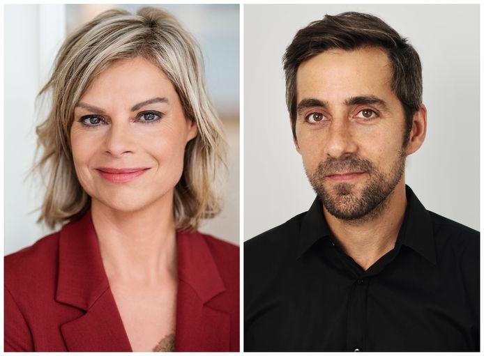 'Blind Getrouwd'-experten Sarah Hertens en Wim Slabbinck