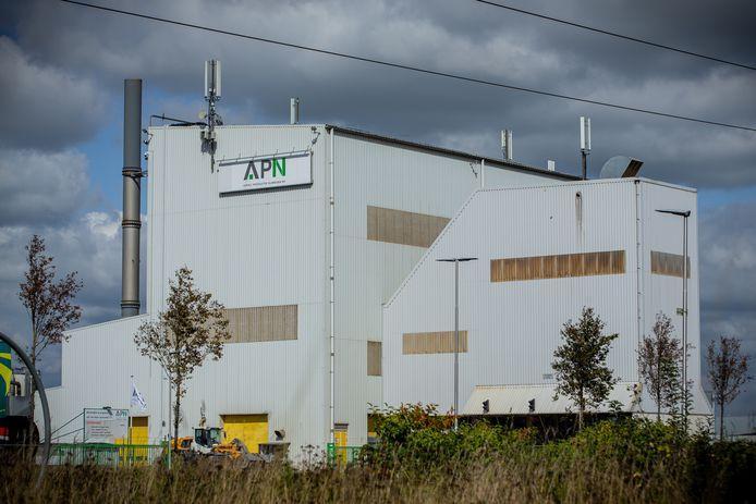 De APN-fabriek bij Hees aan de Energieweg