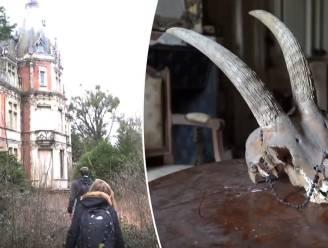 VIDEO. Urban explorers dwalen door sprookjeskasteel dat in verval raakte toen eigenares verdween