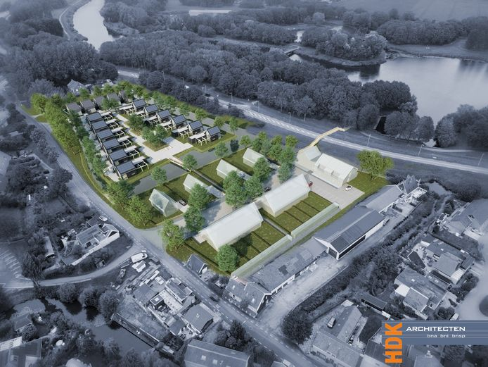 Dit soort woningbouw zoals in Abbenbroek verrijst de komende jaren op meer plekken in Nissewaard.